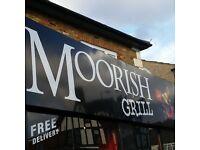 Moorish Caribbean Grill needs a hard working staff.