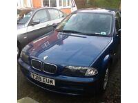 BMW 316 SE Blue 2 litre Petrol