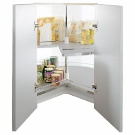 Kessebohmer Corner cabinet three quarter carousel, 1000MM