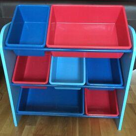 Excellent condition Toy Storage Unit