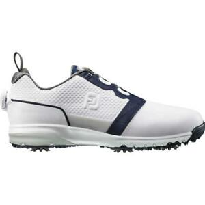 FootJoy Mens ContourFIT Golf Shoes White/Black - 54091