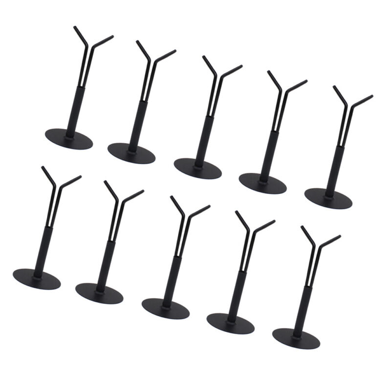 10x Toys Action Man Stand Y-Type Holder Base Support Rack 1/6 Assembly