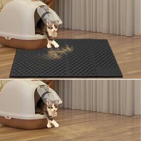 Portable Cat Litter / Feeding Mat (Brand New)