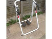 Exercise stepper for lower body toning
