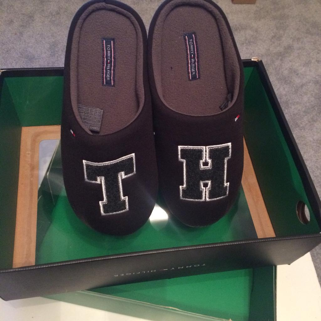 f5d18bf9ca7 TOMMY HILFIGER Mens Slippers