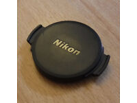Genuine Nikon Lens Cap Cover (Part number LC-CP26) for Nikon COOLPIX cameras