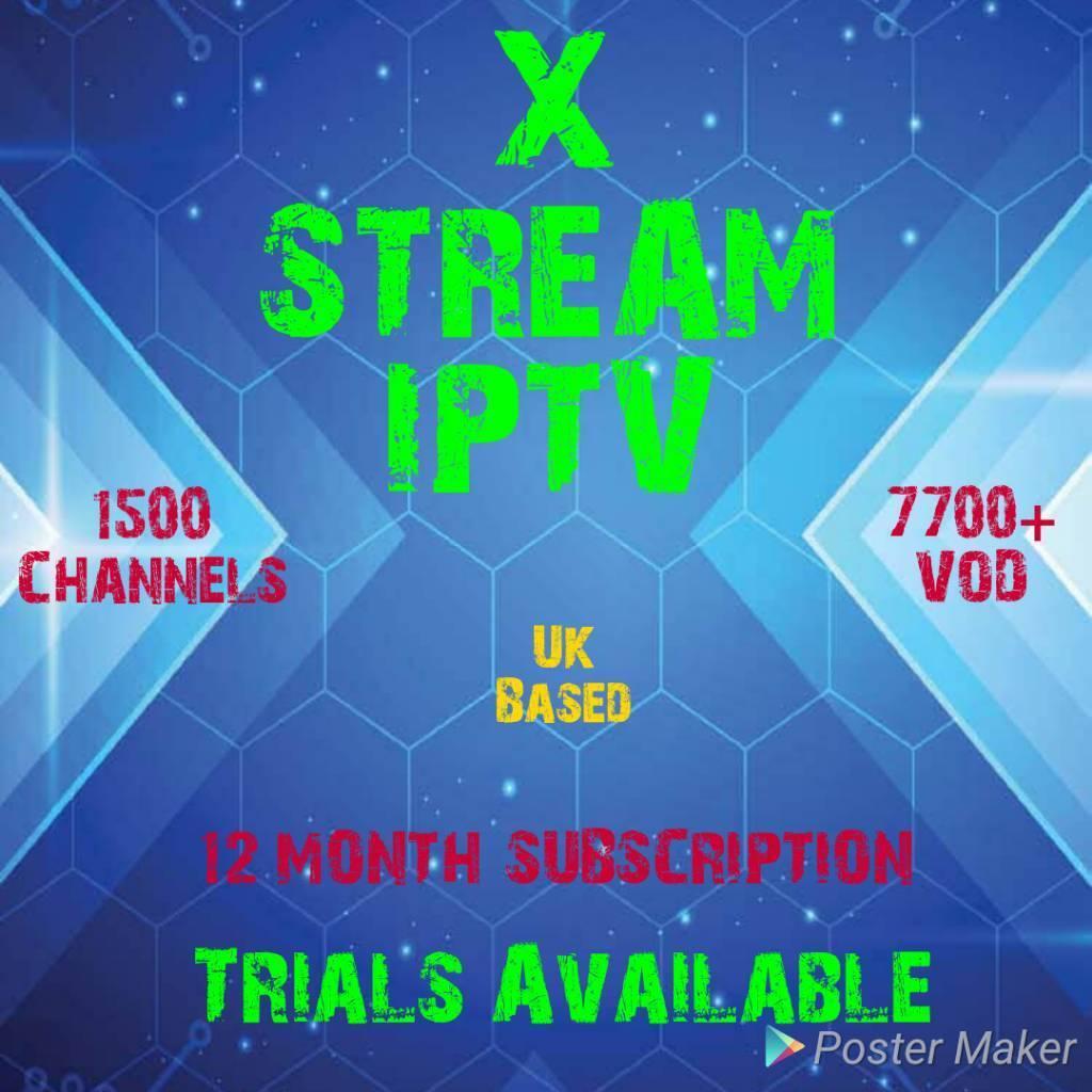 X STREAM IPTVin Newcastle, Tyne and Wear -