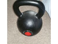 Wolverson 32kg kettle bell, like new