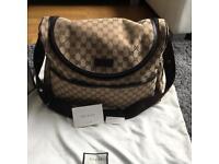 Original Gucci GG diaper Bag