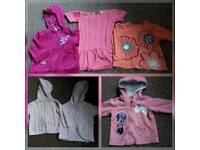 Bundle of baby girl clothes 9-12 months