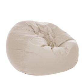 Cream bean bag in great condition!!