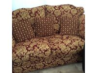 Quality Three Seater Settee.
