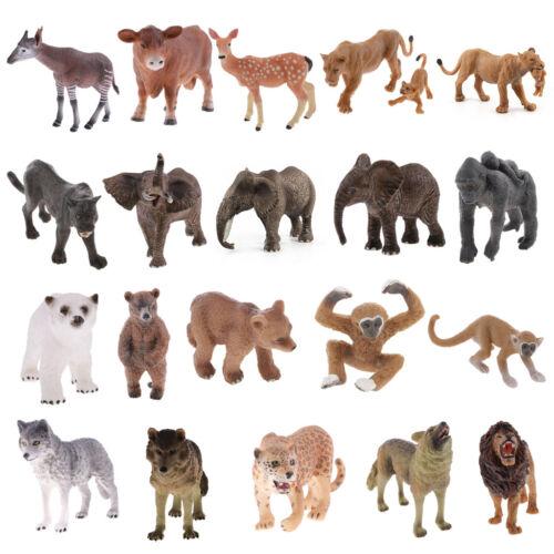 Lifelike Well-crafted Wildlife/Zoo Animal Model Figures Kid