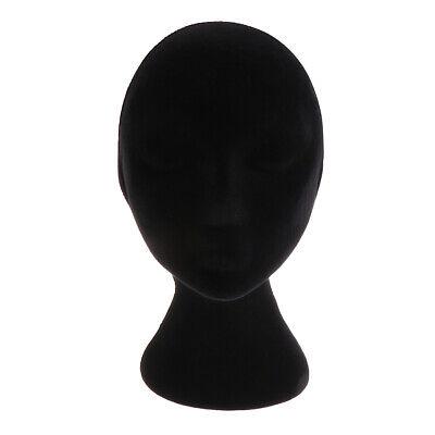 Female Styrofoam Mannequin Foam Head Model Glasses Wigs Display Stand Holder