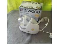 New kenwood mini choper