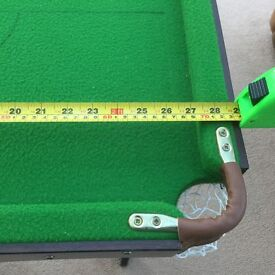 4ft 6ins pool table