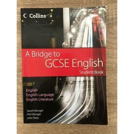 GCSE english student textbook