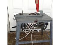 Contractors bench saw