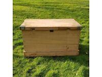 Antique Blanket Box Trunk