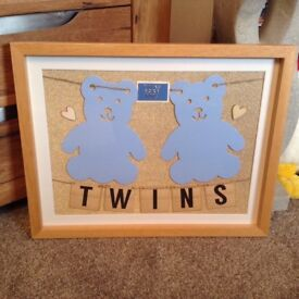 Twin baby boy picture
