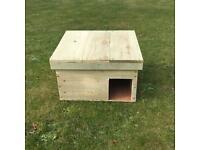 Hedgehog nesting box