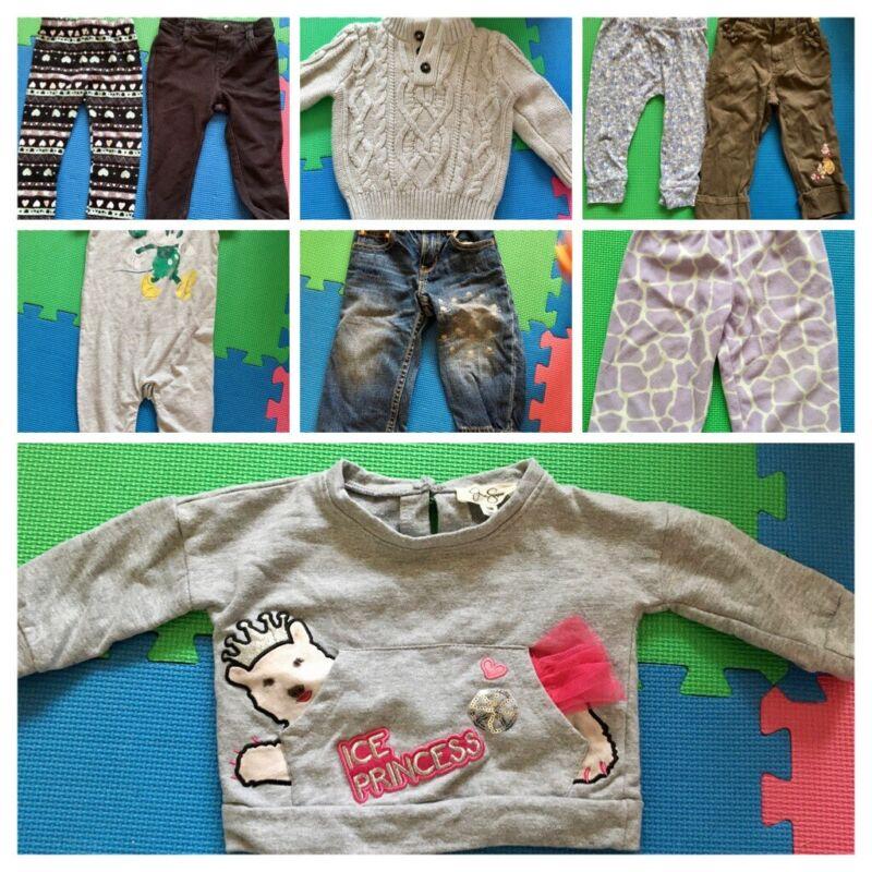 Euc 12-18 Month Girl Spring Fall Winter Clothes Lot Gap Disney