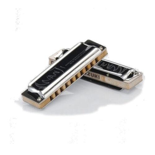 Suzuki Manji M20 DiatonicHarmonica Set - 3 Keys Bb E F [M20_3E] Professional #2