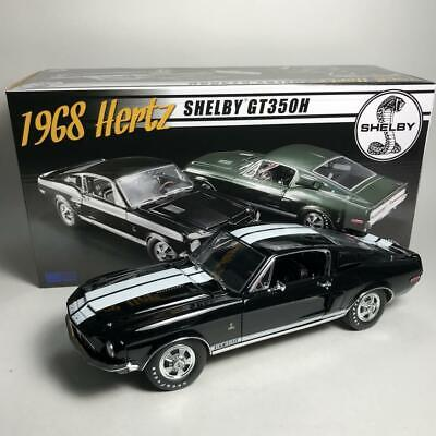 ACME A1801826B 1968 FORD MUSTANG SHELBY GT350H LIMITED ED OF 68 DIECAST CAR 1:18