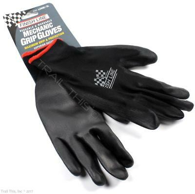 Finish Line Bicycle Mechanic Grip Gloves Latex Free   Large Size  L   Xl