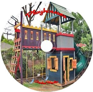 70 + Playhouse Plans Biggest Collection on eBay cd