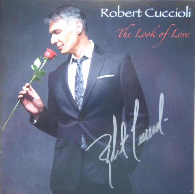 Robert Cuccioli Signed CD titled The Look of Love Autographed Jekyll & Hyde Star