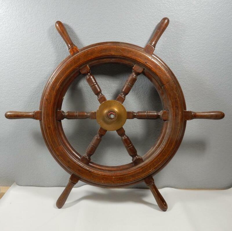 True Antique Wooden Ship