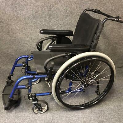 Quickie 2 Manual Blue Folding Wheelchair 15
