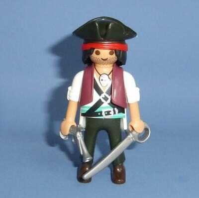 Playmobil  Pirate Soldier & weapons for ship  / boat island battle NEW
