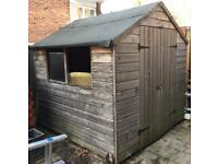 Wooden garden shed 7x7 foot