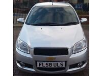 AUTOMATIC CHEVROLET AVEO 1.4 LT 2008, VERY LOW MILEAGE 21,500. IDEAL FIRST CAR. TEL TAN 07577783267.