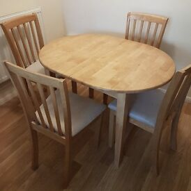 SOLID WOOD EXTENDING DINING TABLE £150 ONO