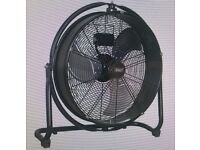 Sealey High Velocity Drum Fan - 54cm Building, Extraction, Ventilation