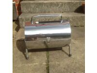 BBQ Barbecue Portable Stainless Steel Grill Foldable Table Charcoal Coal Camping