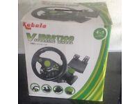 Kabalo vibration gaming steering wheel