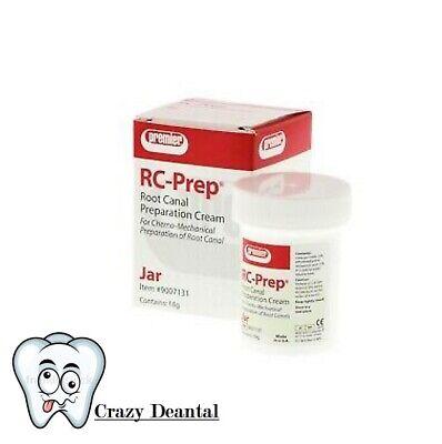 Premier Dental 9007131 Rc Prep Root Canal Preparation 18 Gm Jar Exp..2021-09