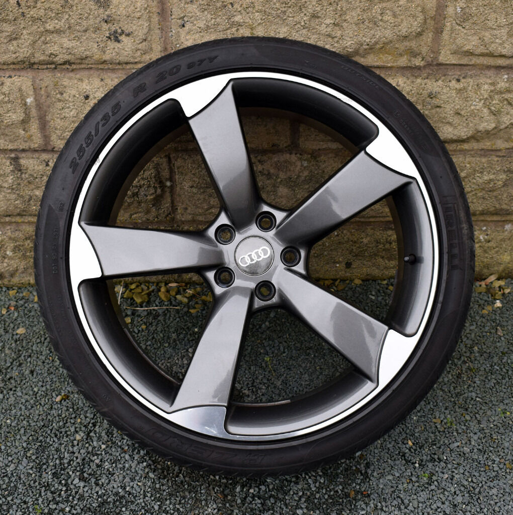"""Audi A4 Ultrasport For Sale: 20"""" Rotor Style Alloy Wheels Tyres 5x112 Audi A4 A6 A8"""