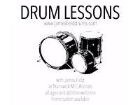 Drum lessons / Drum tutor in Manchester with professional drummer