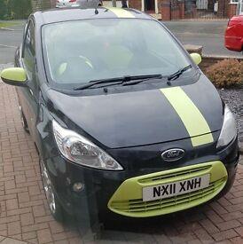 Brilliant Ford Ka Digital 2011 1.2