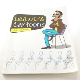 DRAWING CARTOONS - Colin Shelbourn - Even taught me to draw; must be good!