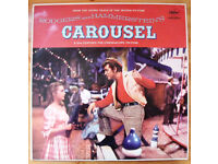 Rodgers & Hammersteins Carousel motion picture soundtrack high fidelity recording LP/record/vinyl.