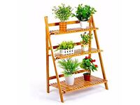 MALAYAS 3 Tier Plant Ladder Stand