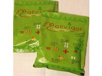 100 x 60g packets of Morvigor Moringa Powder