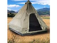 New 4 person tepee tent