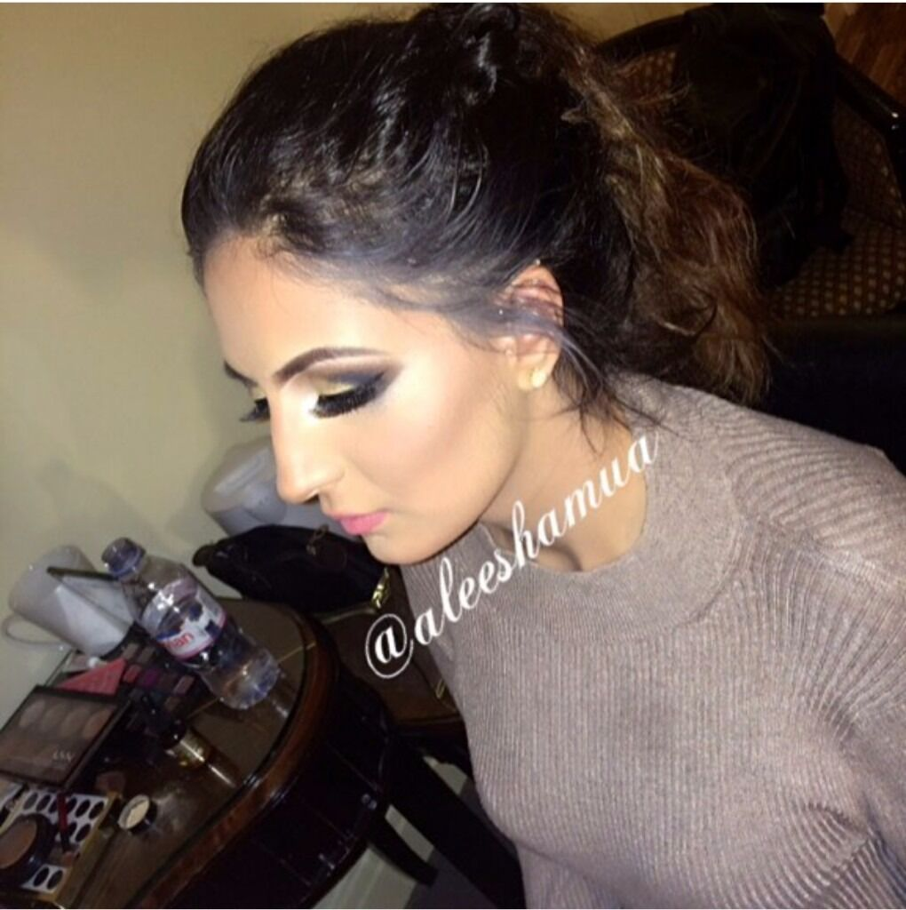 professional mac mua mobile manchester party asian black hair